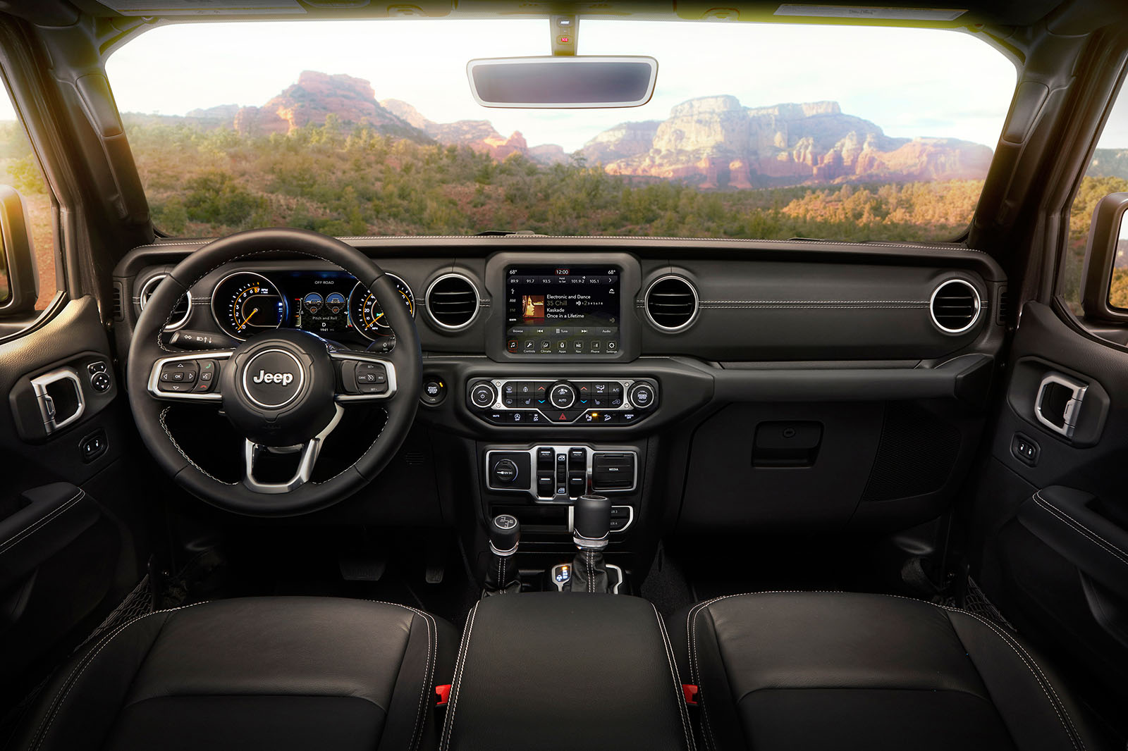 Jeep Wrangler 2019 interior